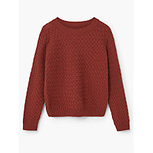 Buy Mango Kids Boys' Dandolo Wool Blend Jumper Online at johnlewis.com