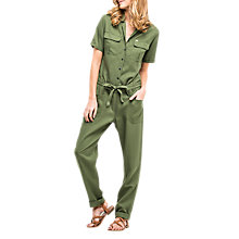 Buy Lee Long Jumpsuit, Military Green Online at johnlewis.com