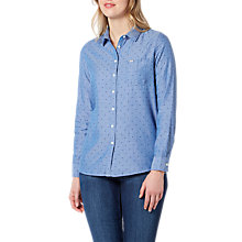 Buy Lee One Pocket Dobby Shirt, Workwear Blue Online at johnlewis.com