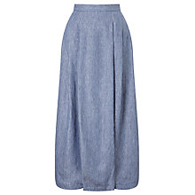 Buy Weekend MaxMara Vallet Stripe Linen Skirt, Avio Online at johnlewis.com