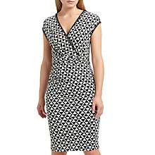 Buy Weekend MaxMara Zitto Stretch Jersey Dress, Dark Brown Online at johnlewis.com