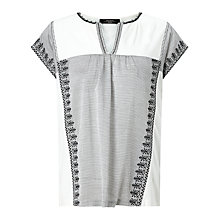 Buy Weekend MaxMara Pandoro Jersey T-Shirt, Black Online at johnlewis.com