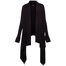 Buy Ted Baker Kristo Waterfall Cardigan, Black Online at johnlewis.com