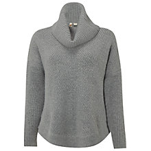 Buy White Stuff Caraway Roll Neck Jumper, Mineral Grey Online at johnlewis.com