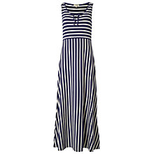 Buy White Stuff Luna Stripe Maxi Dress, Navy Online at johnlewis.com