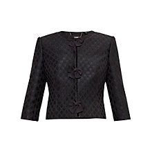 Buy Ted Baker Malini Bow Detail Jacket, Black Online at johnlewis.com