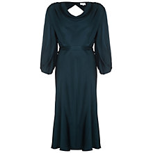 Buy Ghost Astrid Satin Dress, Portia Green Online at johnlewis.com