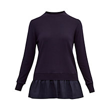 Buy Ted Baker Yaline Woven Hem Jumper Online at johnlewis.com