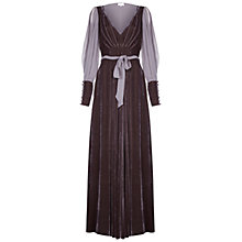 Buy Ghost Jazmine Dress, Thunder Grey Online at johnlewis.com