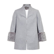 Buy Ted Baker Rilly Coat, Light Grey Online at johnlewis.com