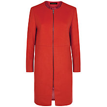 Buy Jaeger Wool Collarless Coat Online at johnlewis.com