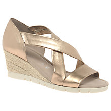 Buy Gabor Lisette Wide Cross Strap Sandals Online at johnlewis.com