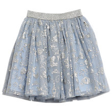 Buy Wheat Disney Girls' Cinderella Tulle Skirt, Powder Pink Online at johnlewis.com