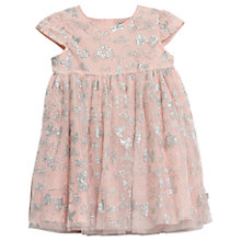 Buy Wheat Disney Girls' Cinderella Tulle Dress, Powder Pink Online at johnlewis.com