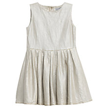 Buy Wheat Girls' Vilma Woven Dress, Gold Online at johnlewis.com