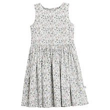 Buy Wheat Girls' Isabella Floral Print Dress, Ivory/Multi Online at johnlewis.com