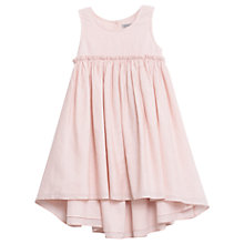 Buy Wheat Girls' Vilna Textured Dobby Dress, Pink Online at johnlewis.com