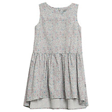 Buy Wheat Girls' Sarah Floral Print Dress, Pale Blue Online at johnlewis.com