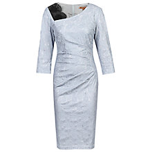 Buy Jolie Moi Three-Quarter Sleeve Bonded Lace Dress Online at johnlewis.com
