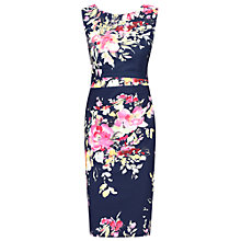 Buy Jolie Moi Floral Print Ruched Shift Dress Online at johnlewis.com