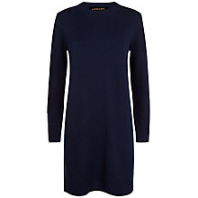 Buy Jaeger Knitted Zip Cuff Dress Online at johnlewis.com