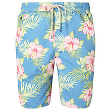 Buy Polo Ralph Lauren Pastel Floral Swim Shorts, Blue Online at johnlewis.com