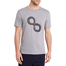 Buy HYMN Tracks Tabletop Car T-Shirt, Grey Online at johnlewis.com