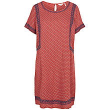 Buy Fat Face Ruby Gypset Foulard Dress, Flame Online at johnlewis.com