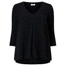 Buy Studio 8 Marie Top, Black Online at johnlewis.com
