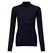 Buy Jigsaw Wafer Cashmere Roll Neck Jumper Online at johnlewis.com
