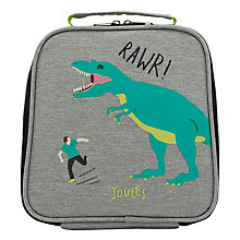 Buy Little Joule Children's Dinosaur Print Munch Lunch Box Bag, One size Online at johnlewis.com
