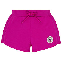 Buy Converse Girls' Rib Panel Shorts Online at johnlewis.com
