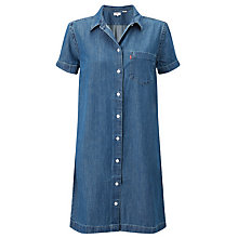 Buy Levi's Sidney Denim Dress, Seattle Blue Online at johnlewis.com