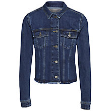 Buy Calvin Klein Denim Jacket, Stoney Blue Online at johnlewis.com