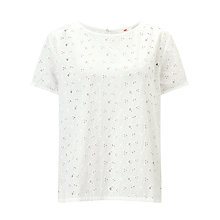 Buy Levi's Joanna Top, White Online at johnlewis.com