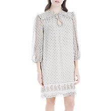 Buy Max Studio Ruffle Border Printed Dress, Multi Online at johnlewis.com