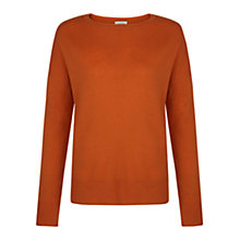 Buy Hobbs Atwell Jumper, Copper Online at johnlewis.com