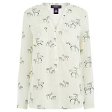Buy Oasis Stag Shirt, Multi Online at johnlewis.com