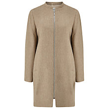 Buy Precis Petite Cocoon Coat, Neutral Online at johnlewis.com