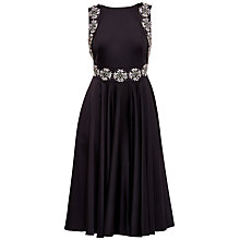 Buy Ted Baker Jirina Embellished Backless Dress, Black Online at johnlewis.com