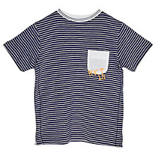 Buy Angel & Rocket Boys' Striped Jersey T-Shirt, Green Online at johnlewis.com