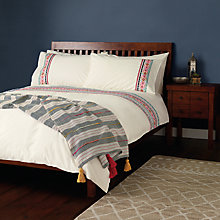 Buy John Lewis Dakari Embroidered Duvet Cover and Pillowcase Set Online at johnlewis.com