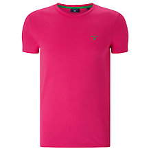 Buy Gant Contrast Logo Short Sleeve T-Shirt Online at johnlewis.com