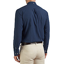 Buy Gant Indigo Check Shirt, Indigo Online at johnlewis.com