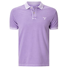 Buy Gant Sunbleached Polo Shirt, Lilac Online at johnlewis.com