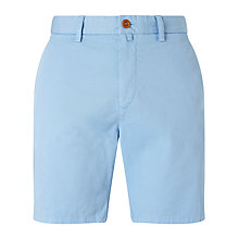 Buy Gant Slim Comfort Chino Shorts, Capri Blue Online at johnlewis.com