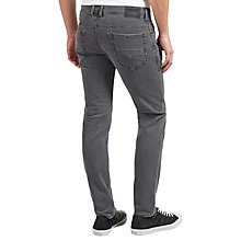 Buy Diesel Thommer Stretch Cotton Skinny Jeans, Grey Online at johnlewis.com