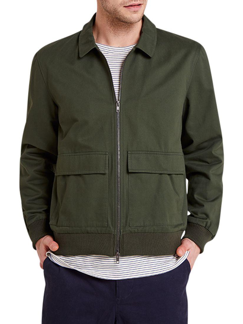 HYMN HYMN Tron Harrington Jacket, Forest Green