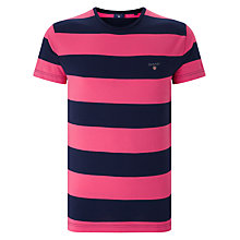 Buy Gant Original Bar Stripe T-Shirt Online at johnlewis.com