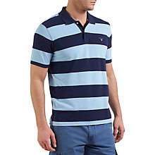 Buy Gant Barstripe Cotton Polo Shirt Online at johnlewis.com